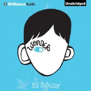 wonder audiobook r.j.palacio