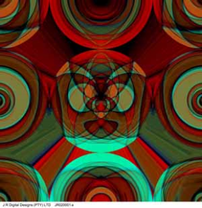 prepared by j r digital designs, abstract, 1x1m, jr020001a