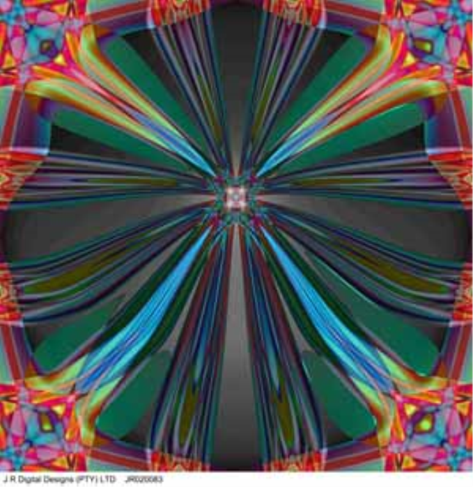 Second Additional product image for - Prepared by J R Digital Designs, Flower, 0.5x0.5m, JR020083a