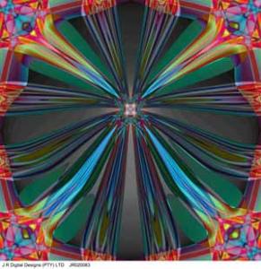 prepared by j r digital designs, flower, 0.5x0.5m, jr020083a