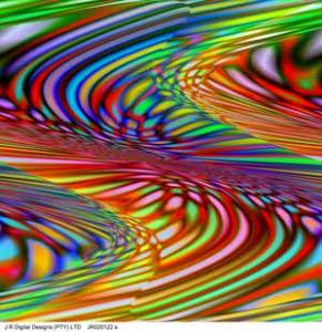 prepared by j r digital designs, zigzag, 1x1m, jr020122a