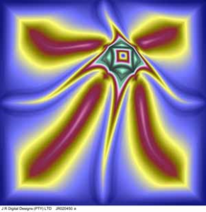 prepared by j r digital designs, flower, 1.27x1.27m, jr020450a