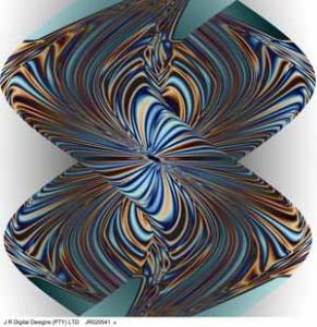 prepared by j r digital designs, zigzag, 0.5x0.5m, jr020541a