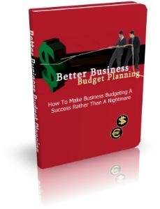 better business budget planning