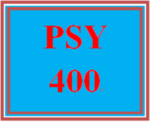 psy 400 week 4 group influence
