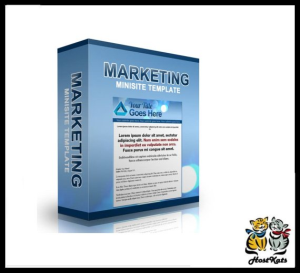 marketing minisite template 2