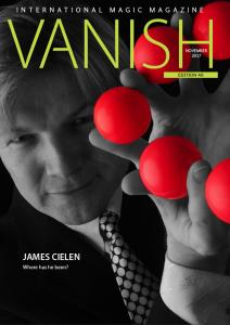 vanish magic magazine 40