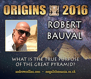 robert bauval what is the true purpose of the great pyramid?