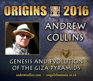 andrew collins genesis and evolution of the giza pyramids