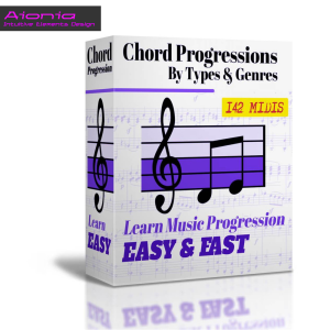 chord progressions midi pack (by types & genres)