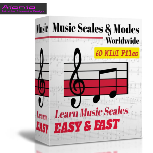 music scales & modes – worldwide music midis (60 midis)