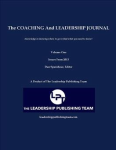 the coaching and leadership journal   volume one- -2013 back issues