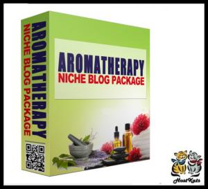 Aromatherapy PLR Niche Blog | Software | Design Templates