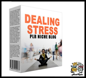 dealing with stress plr niche blog