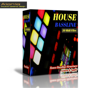 learn house bassline - music theory structure (midi pack) vol.1