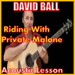learn to play riding with private malone by david ball