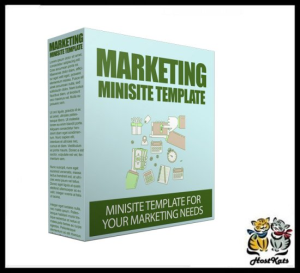 marketing site template v50