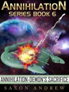 demon's sacrifice by  andrew saxon, 2011