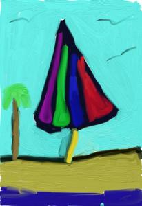 beach unbrella
