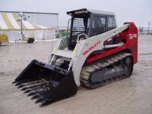 takeuchi tl150 skid steer loader service repair workshop manual(book no.ct7e002)