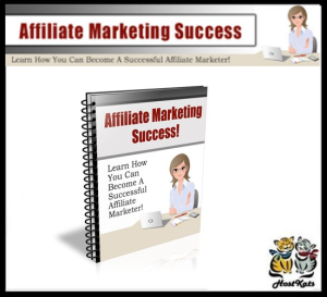 affiliate marketing success - ebook