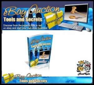 ebay auction tools and secrets - ebook