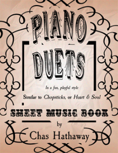 piano duets sheet music book
