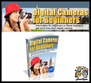 digital cameras for beginners - ebook
