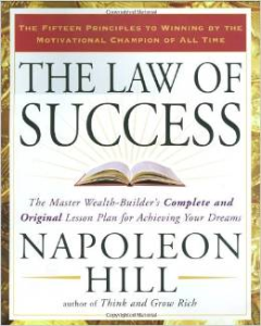 "laws of success ""think and grow rich"" napoleon hill"