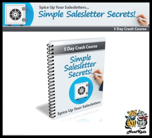 simple sales letter secrets ecourse - ebook