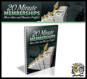 20 minutes membership - ebook
