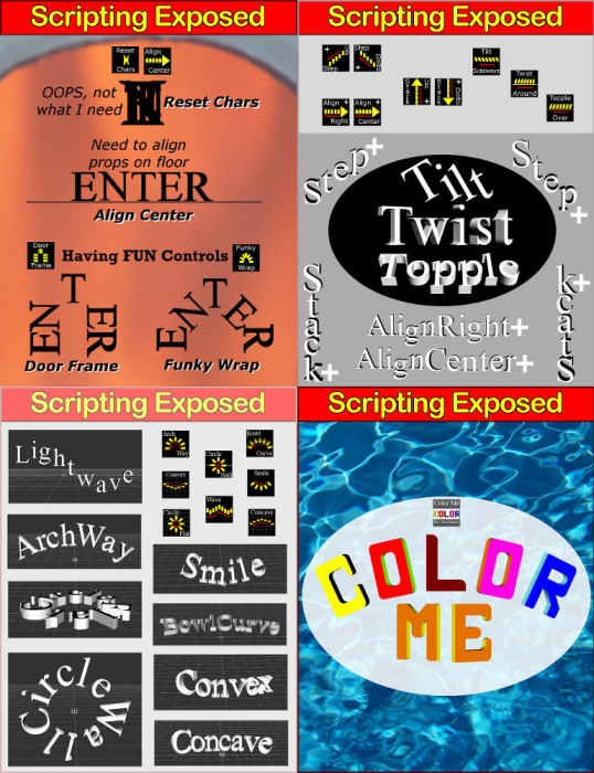Third Additional product image for - SCRIPTING EXPOSED: Phrase-Maker for Daz Studio