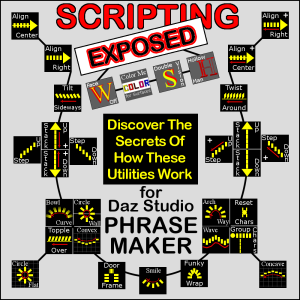 SCRIPTING EXPOSED: Phrase-Maker for Daz Studio | Software | Utilities