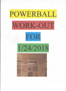 powernall work-out for 1/27/18