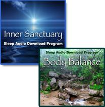 Inner Sanctuary/Body Balance Download Audio Sleep Package | Audio Books | Health and Well Being