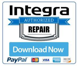 integra drx 4 original service manual