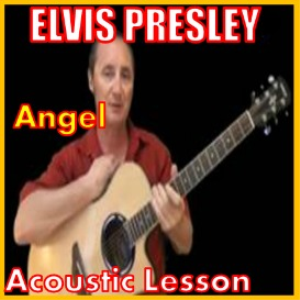 learn to play angel by elvis presley