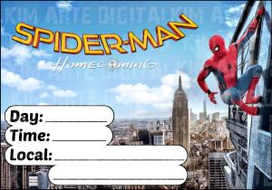 invite spider-man