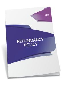 redundancy policy