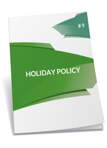 holiday policy