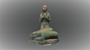 unique 3d scanning of vigeland sculpture