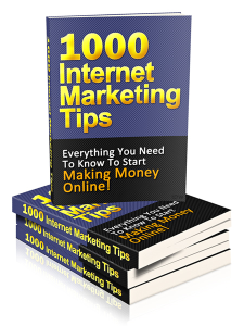 1000 internet marketing tips