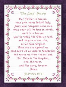 the lords prayer nlt