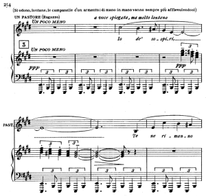 io de' sospiri, aria for tenor. g. puccini: tosca, vocal score (ricordi), italian.