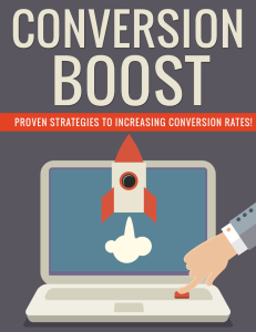Conversion Boost PLR Pack | eBooks | Internet