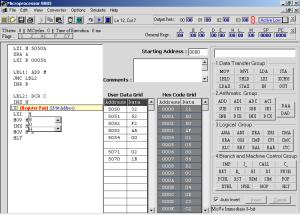 microprocessor 8085 simulator software kit