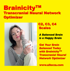 brainicitytm transcranial neural network optimizer - c2, c3, c4 scales