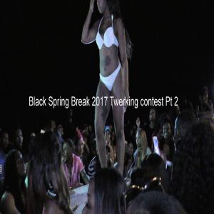 black spring break 2017 twerking contest pt 2