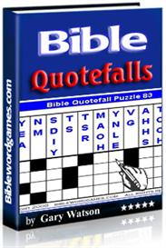bible quotefall puzzles vol.1 e-book