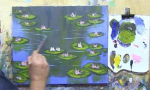 e7 monets waterlilies